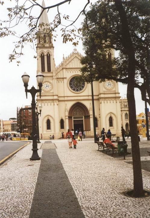 La cattedrale de Nossa Senhora da Luz dos Pinhais
